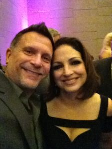 Christian and Gloria Estefan